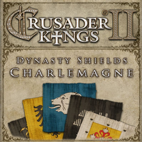 Acheter Crusader Kings 2 Dynasty Shields Charlemagne Clé Cd Comparateur Prix