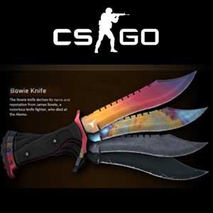 Acheter CSGO Random Bowie Knife Skin Clé Cd Comparateur Prix