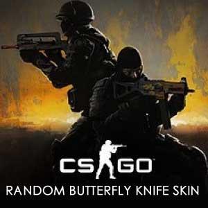 CSGO Random Butterfly Knife Skin