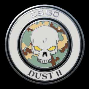 CSGO Series 1 Dust 2 Collectible Pin