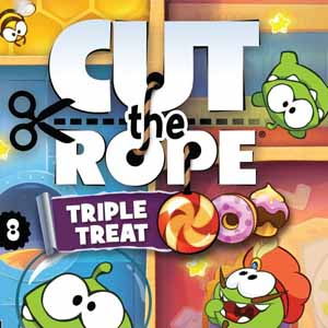 Acheter Cut the Rope Triple Treat Nintendo 3DS Download Code Comparateur Prix