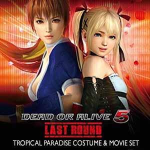 DEAD OR ALIVE 5 Last Round Tropical Paradise Costume & Movie Set