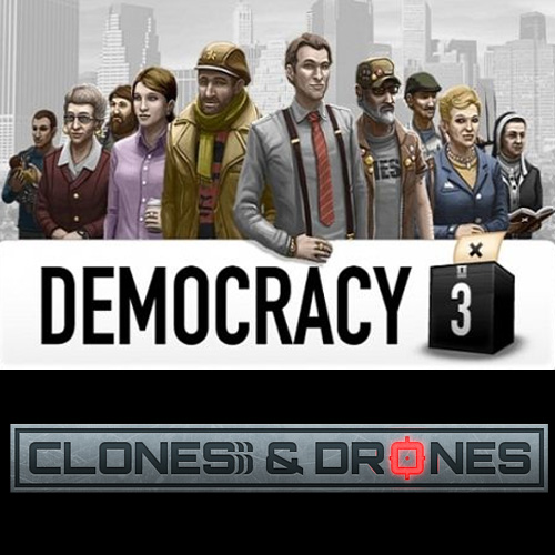 Acheter Democracy 3 Clones and Drones Clé Cd Comparateur Prix