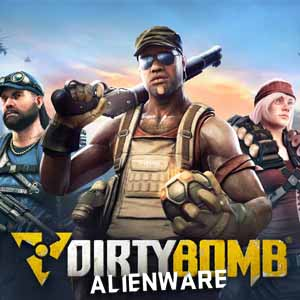Dirty Bomb Alienware Skin