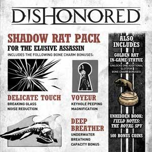 Acheter Dishonored Shadow Rat Pack Clé Cd Comparateur Prix