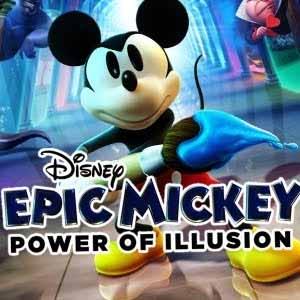 Disney Epic Mickey Power of Illusion
