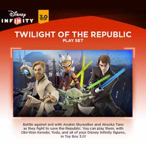 Acheter Disney Infinity 3.0 Twilight of the Republic Play Set Clé Cd Comparateur Prix