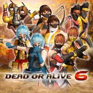 DOA6 Morphing Ninja Costume Set