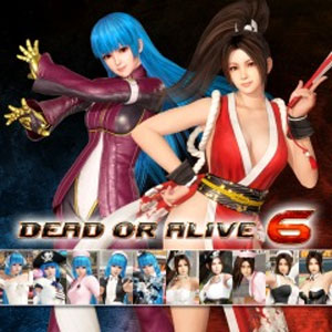 DOA6 THE KING OF FIGHTERS 14 Mashup Content Set