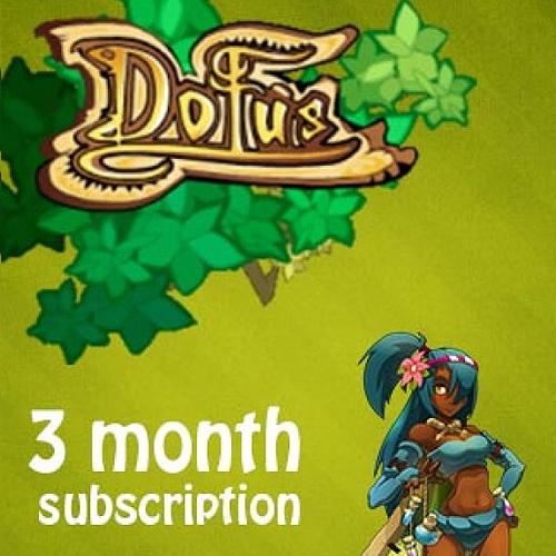 Acheter Dofus 3 Mois Subscription Gamecard Code Comparateur Prix