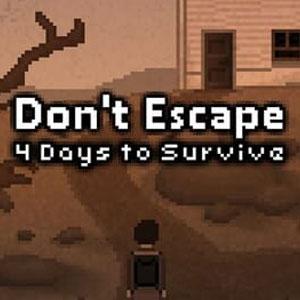 Acheter Don't Escape 4 Days to Survive Clé CD Comparateur Prix