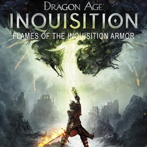 Telecharger Dragon Age Inquisition Flames of the Inquisition Armor PS4 code Comparateur Prix