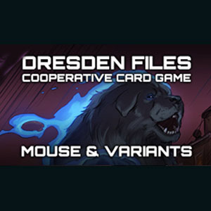 Dresden Files Cooperative Card Game Mouse & Variantes