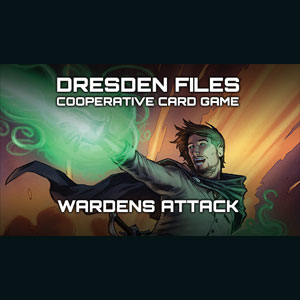 Dresden Files Cooperative Card Game L'Attaque Des Gardes