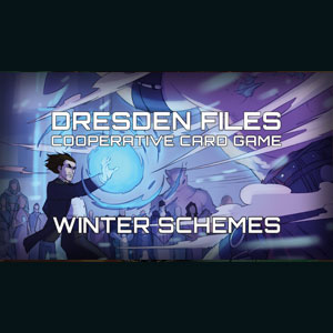 Dresden Files Cooperative Card Game Complots D'Hiver
