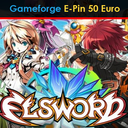 Elsword Gameforge E-Pin 50 Euro