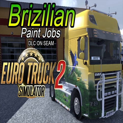 Acheter Euro Truck Simulator 2 Brazilian Paint Jobs Pack Clé Cd Comparateur Prix