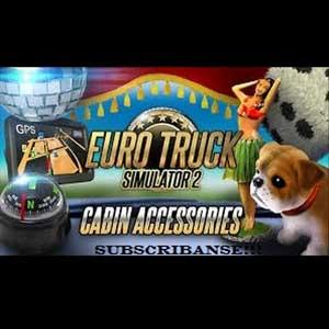 Acheter Euro Truck Simulator 2 Cabin Accessories Clé Cd Comparateur Prix