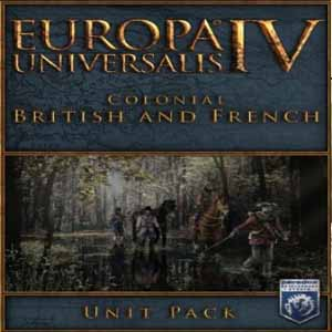 Acheter Europa Universalis 4 Colonial British and French Unit Pack Clé Cd Comparateur Prix