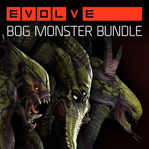 Evolve Bog Monster Skin Pack