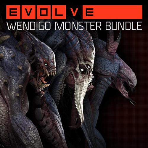 Evolve Wendigo Monster Skin Pack