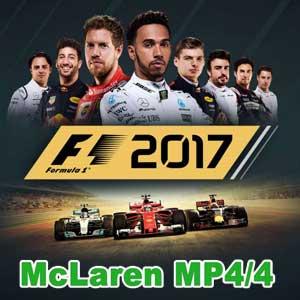 F1 2017 1988 McLAREN MP4/4 Classic Car