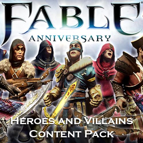 Acheter Fable Anniversary Heroes and Villains Content Pack Clé Cd Comparateur Prix