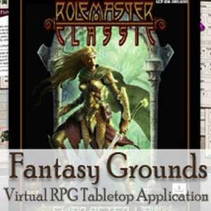 Acheter Fantasy Grounds Rolemaster Clé Cd Comparateur Prix
