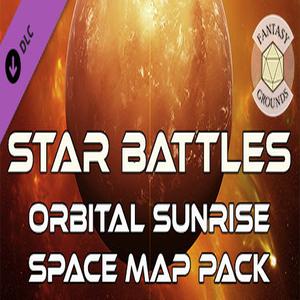 Fantasy Grounds Star Battles Orbital Sunrise Space Map Pack