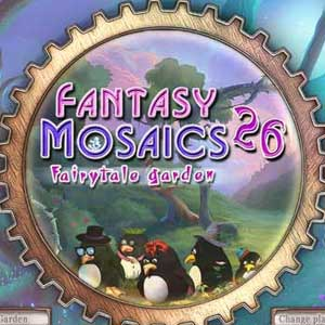 Fantasy Mosaics 26 Fairytale Garden