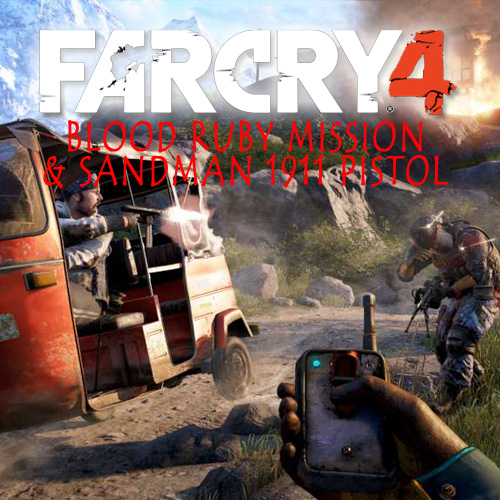 Acheter Far Cry 4 Blood Ruby Mission & Sandman 1911 Pistol Clé Cd Comparateur Prix
