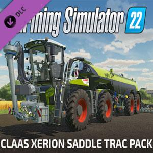 Farming Simulator 22 CLAAS XERION SADDLE TRAC Pack
