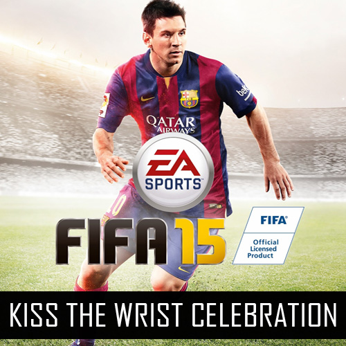 Fifa 15 Kiss the Wrist Celebration