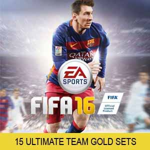 Telecharger FIFA 16 15 Ultimate Team Gold Sets PS4 code Comparateur Prix