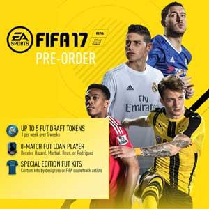 Acheter FIFA 17 Preorder Bonus Clé Cd Comparateur Prix