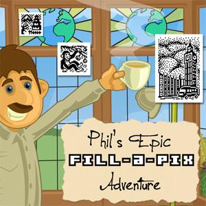 Fill-a-Pix Phil's Epic Adventure USA Road Trip