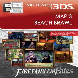 Fire Emblem Fates Map 3 Beach Brawl
