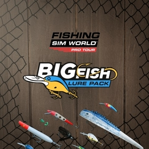 Fishing Sim World Pro Tour Big Fish Lure Pack