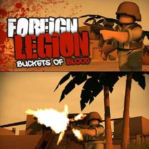 Acheter Foreign Legion Buckets of Blood Clé Cd Comparateur Prix