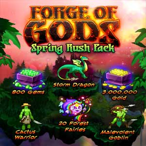 Forge of Gods Spring Rush Pack