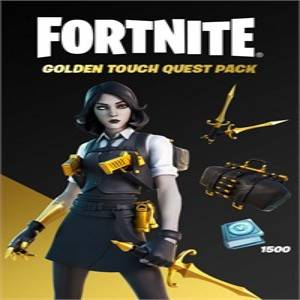 Fortnite Golden Touch Quest Pack