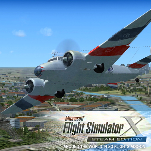 Acheter FSX Steam Edition Around The World In 80 Flights Add-On Clé Cd Comparateur Prix