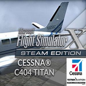 FSX Steam Edition Cessna C404 Titan Add-On