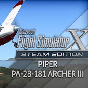 FSX Steam Edition Piper PA-28-181 Archer 3 Add-On