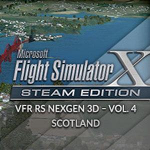FSX Steam Edition VFR Real Scenery NexGen 3D Vol. 4 Scotland Add-On