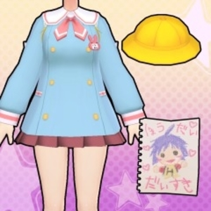 Gal*Gun Double Peace Blast from the Past Costume Set