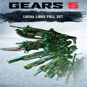 Gears 5 Lucha Libre Full Set