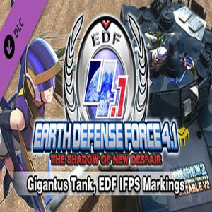 Gigantus Tank EDF IFPS Markings