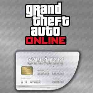 Acheter GTAO Great White Shark Cash Card Gamecard Code Comparateur Prix