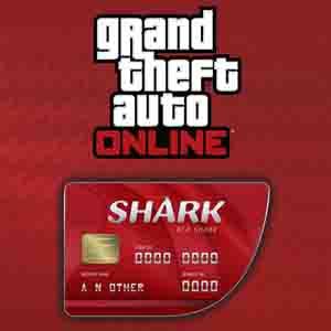 Acheter GTAO Red Shark Cash Card Gamecard Code Comparateur Prix